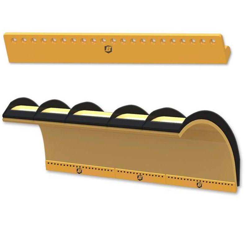 rubber blades